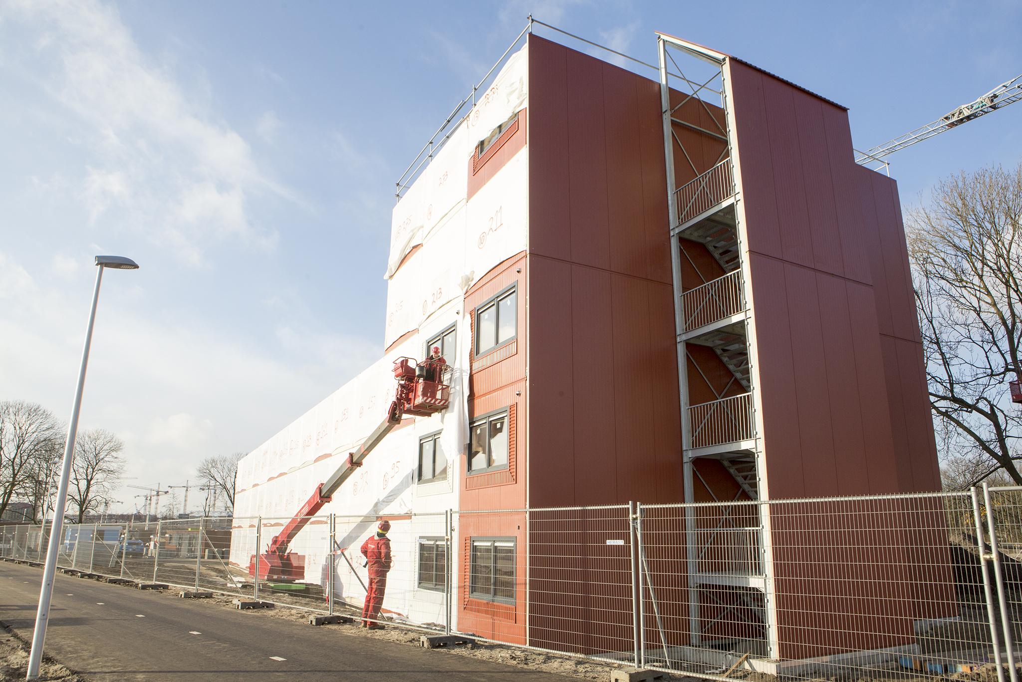 Bouwproject Verthorenpad Utrecht