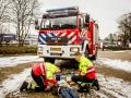 Brandweer rukt uit voor reanimatie