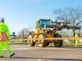 120m lange spoorstaven vervoerd