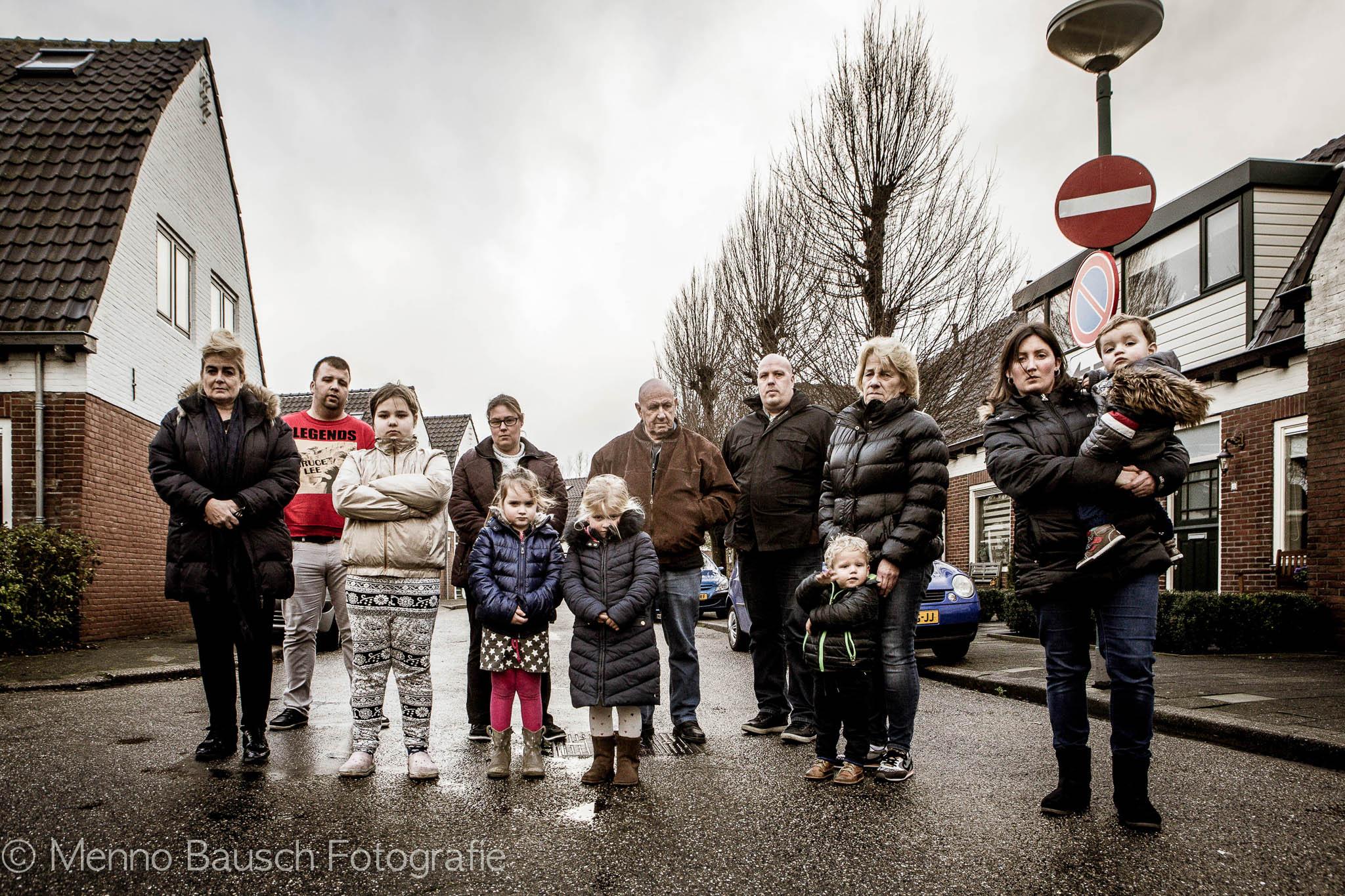 Bewoners het rode dorp tegen AZC Breukelen
