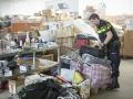 Grote hoevelheid gestolen kleding gevonden