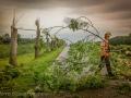 Valwind richt grote schade aan