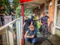 Brandweer Utrecht Voordorp in actie
