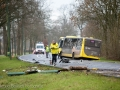 Drie gewonden na botsing auto en bus Bunnik