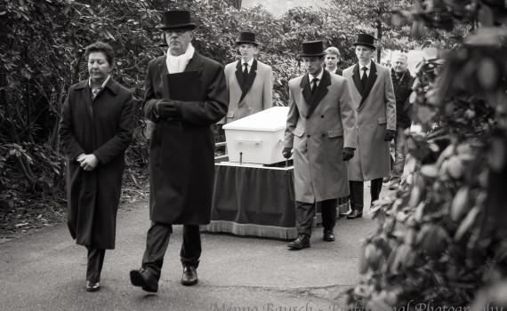 Onbekende man begrafen